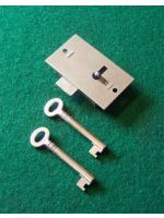 2 5/8'' Narrow Steel Straight Cupboard Lock No.145
