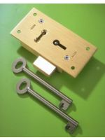 3 1/2'' Large Straight Cupboard Lock 2 Lever No.51L